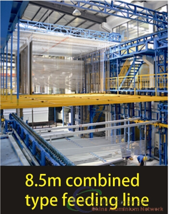 8.5m combined type feeding line