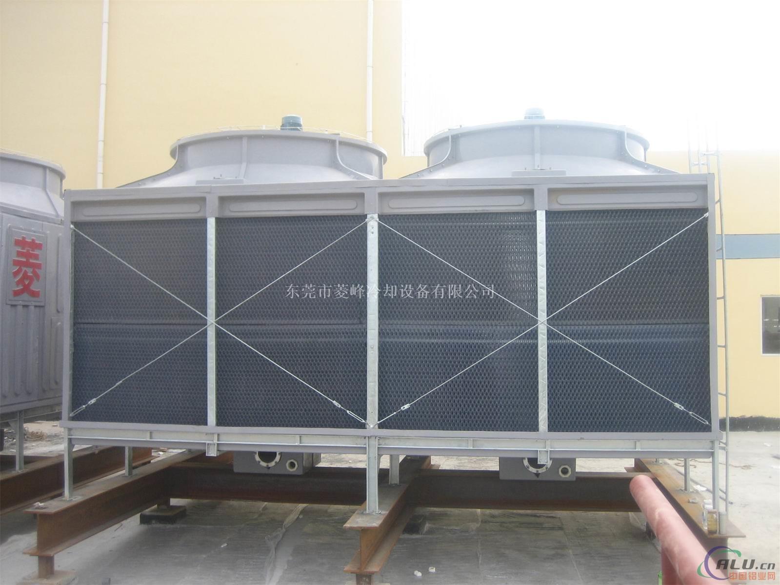 横流式冷却塔,中温污水冷却塔,横流式中温玻璃钢冷却塔,玻璃钢导风筒