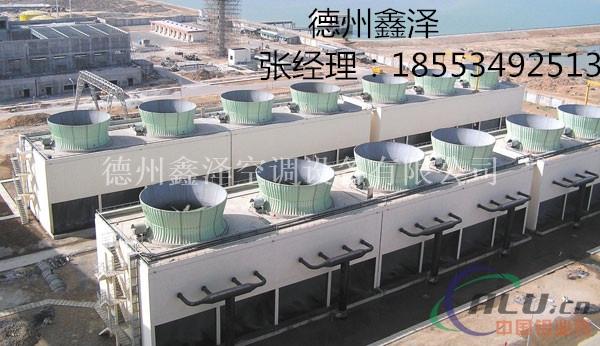 逆流式圆型冷却塔图片