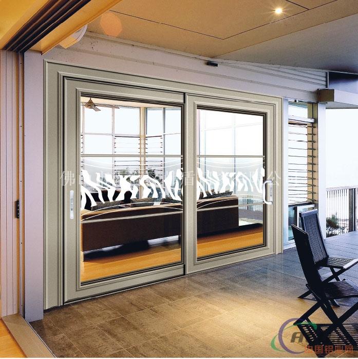 室內門窗吊趟門-鋁合金門窗-中國鋁業網