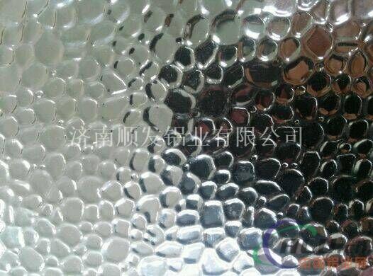 厂家供应锤形纹压花铝板 压花铝卷