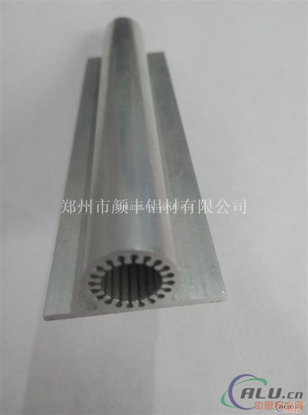 供应直流微型电机外壳铝型材