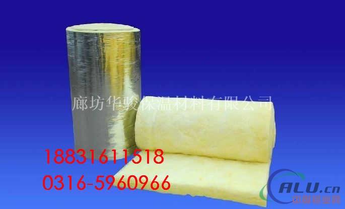 铝箔贴面玻璃棉卷毡的作用