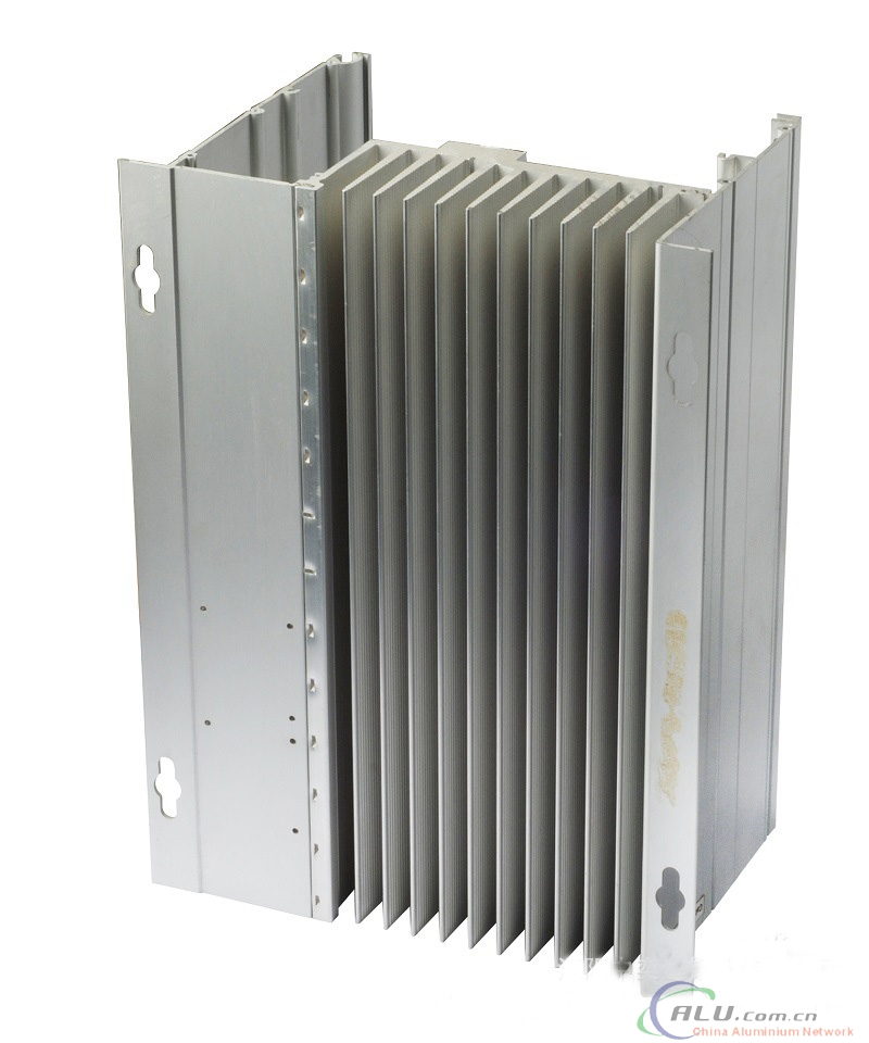 CNC Machining and Driling Aluminium Heatsink with Big Size