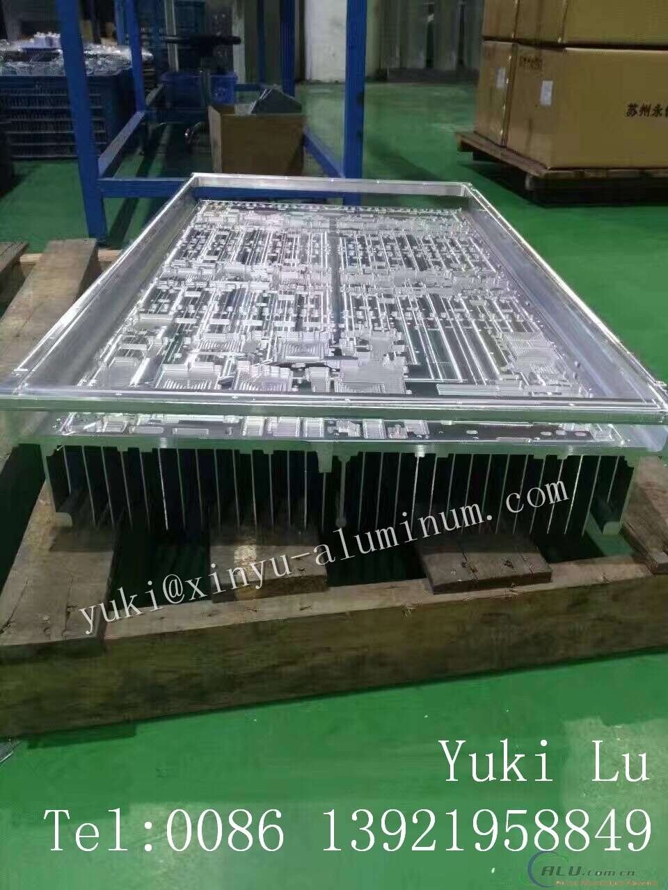 Width:520mm 5G High Precision Heat Sink with CNC Processing