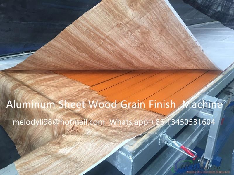 Aluminum Profile Wood Grain Machine