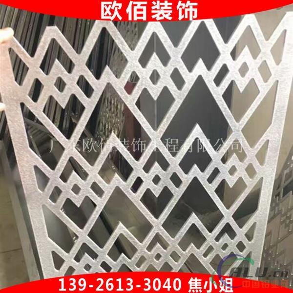 雕刻图案铝单板 窗花门头铝板造型