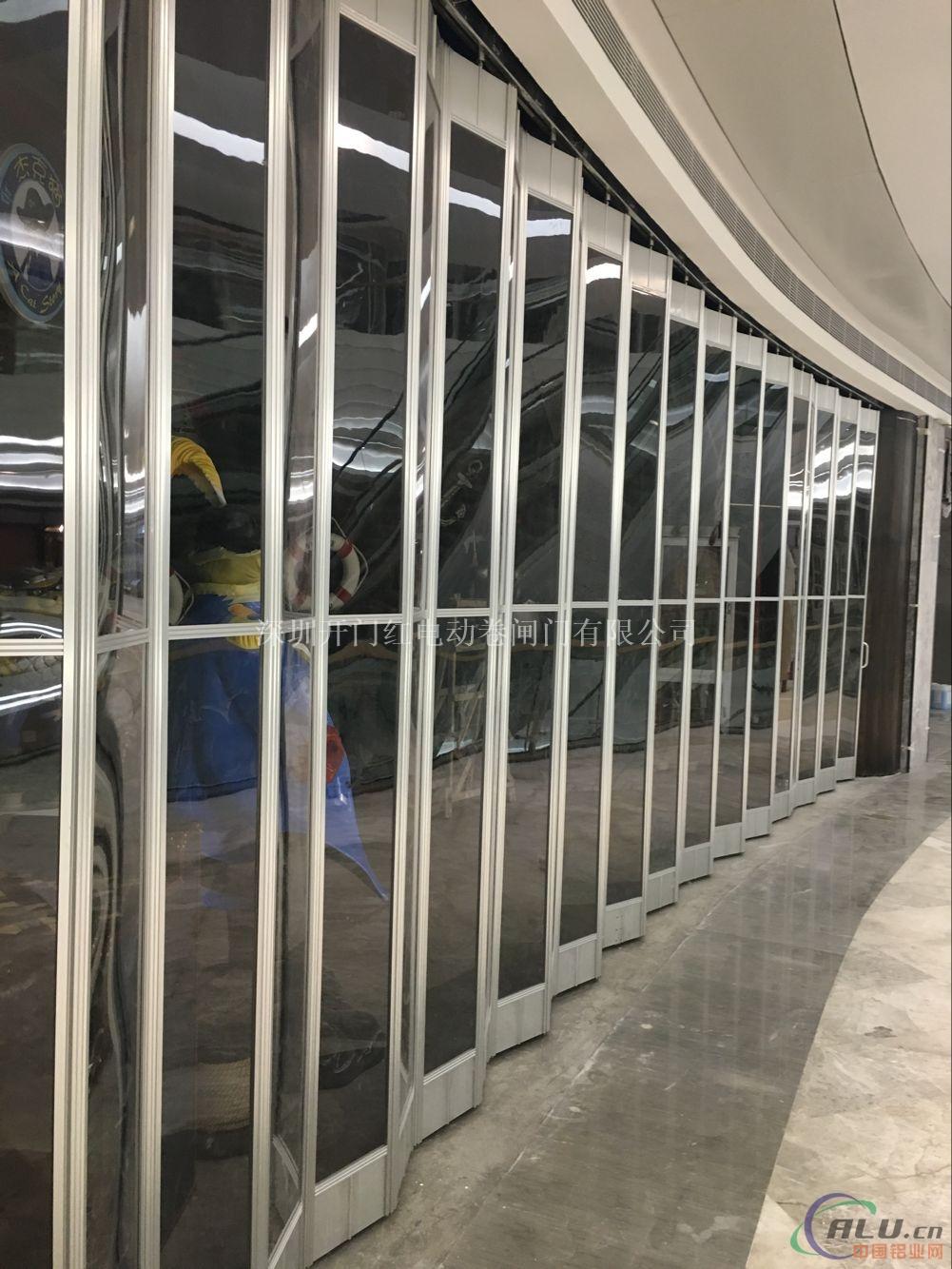 广州水晶折叠门