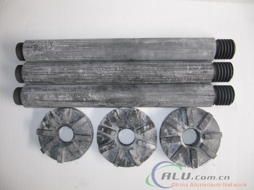 Graphite rotor and shaft
