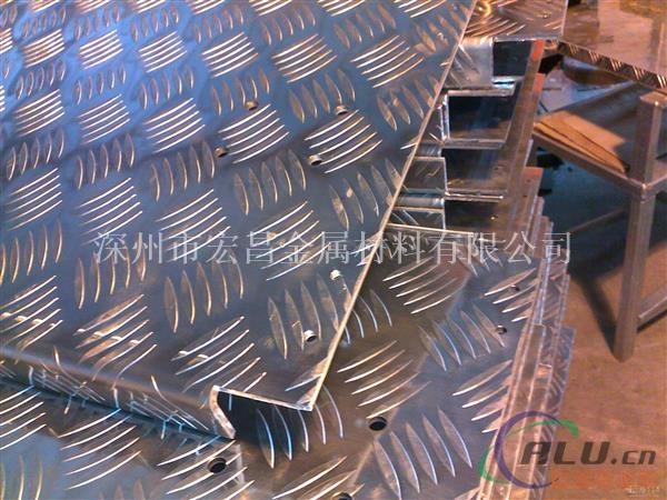 厂家生产销售2011铝合金花纹板 价格优惠