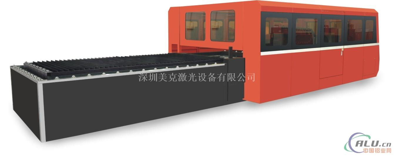 激光光纤布料切割机