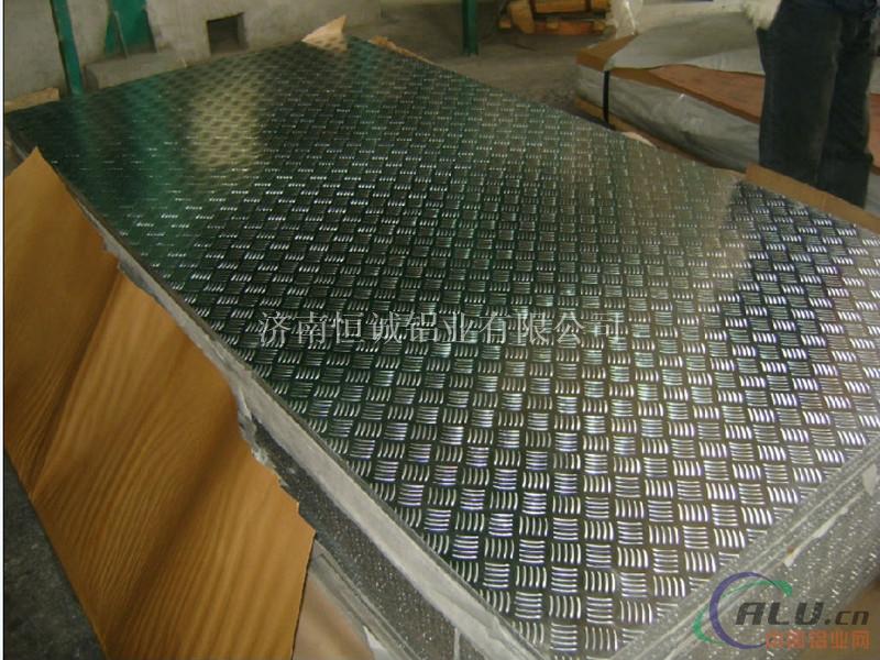 4个厚五条筋花纹铝板
