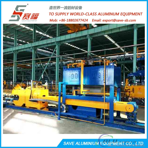 Aluminium Extrusion Profile Flat Transfer Type Cooling Table