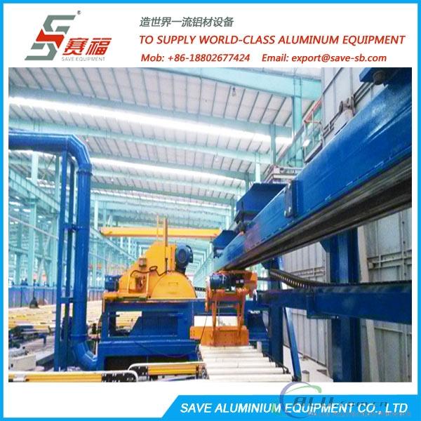 Aluminium Extrusion Profile Cooling Area