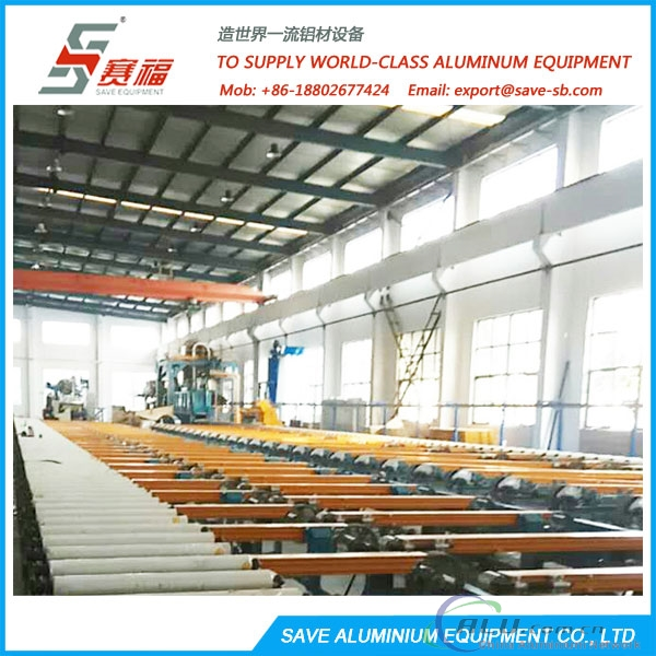 aluminium extrusion automatic high-tech handling system