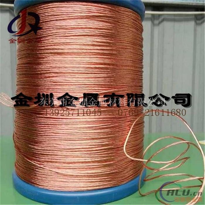 工程专用铜包铝线 电镀铜包铝漆包线