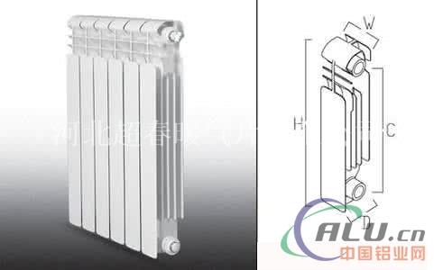 奥圣尼压铸铝暖气片装修效果图