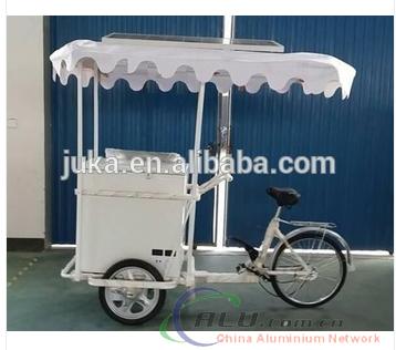 solar freezer dc 12v freezer ice cream tricycle BDBC-358 for sale