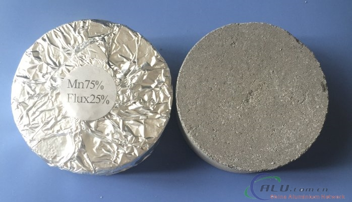 Aluminum Manganese Alloying Tablet