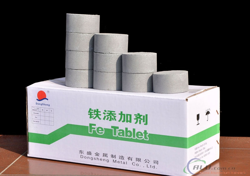 Aluminium Alloying Iron Tablet