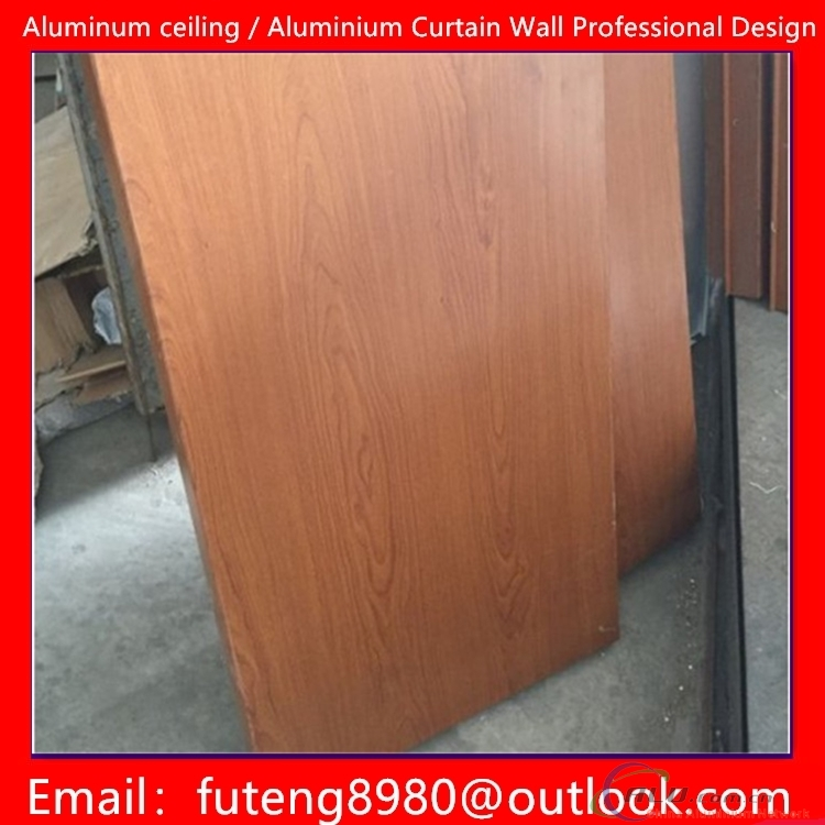 Metal ceiling aluminum curtain wall