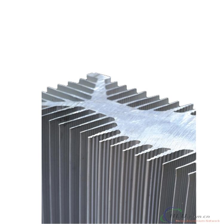 Aluminium extruded profiles for heat  sink