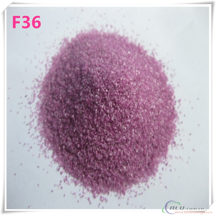 Al2O3 Material and Grinding polishing Usage  pink fused Aluminium Oxide F36