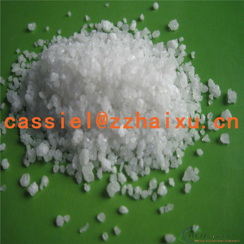 white fused alumina/white aluminum oxide section sand