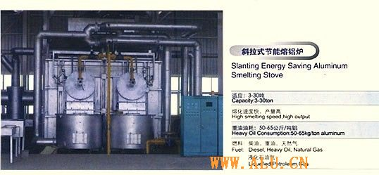 Aluminium smelting furnace