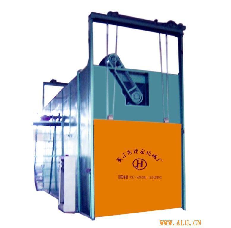 timing furnace for aluminium profile