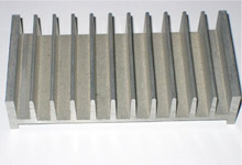 Radiating flange profile