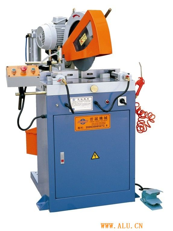 Angle cutting machine of aluminium profile,  raw material cutting machine, aluminium cutting machine, aluminum sawing machine