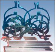 Galvanothermy pipe of aluminium profile extrusion machine