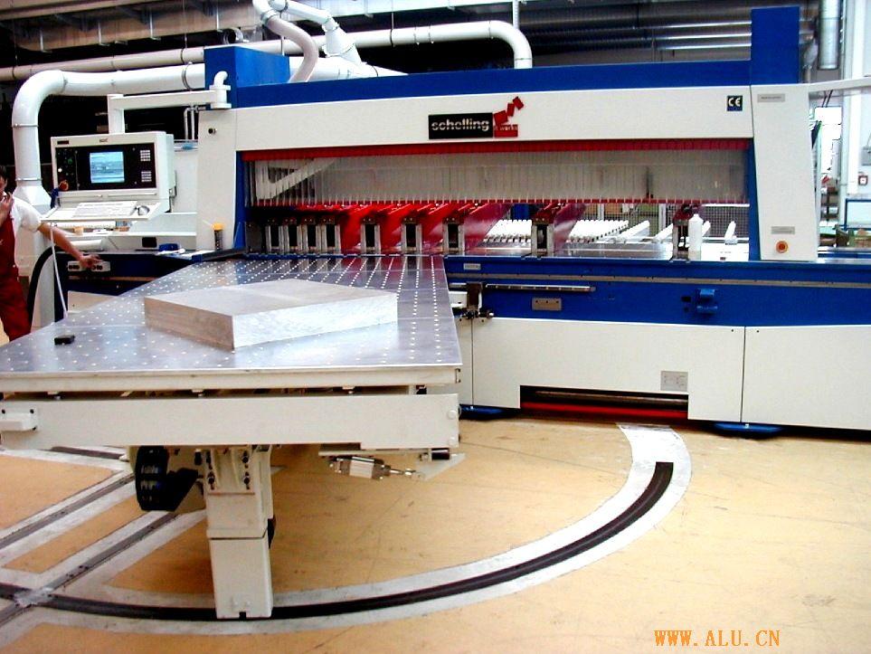 奥地利谢林高精度铝板铝蜂窝版切割机