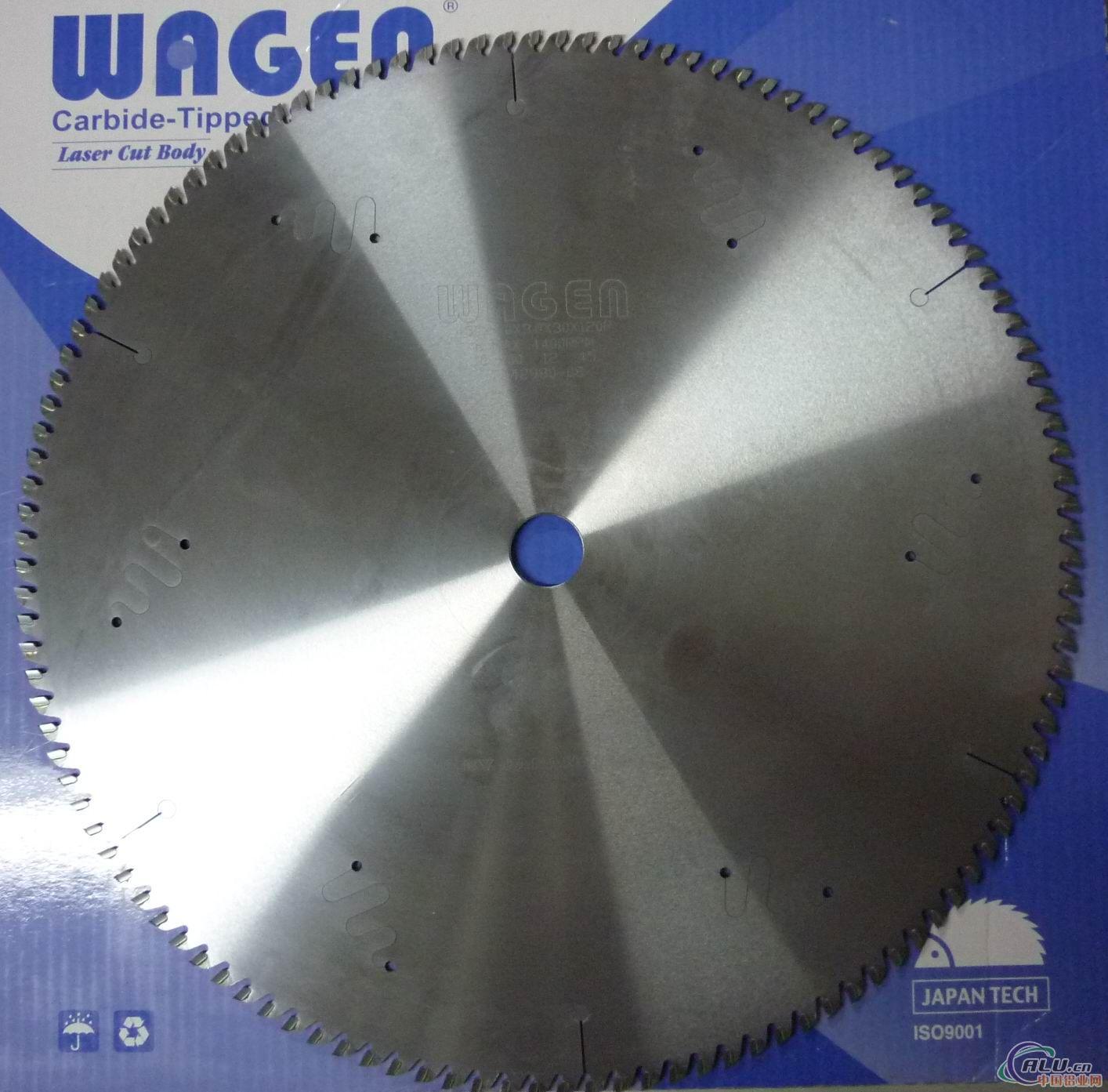 进口日本和源锯片  wageng切铝锯片
