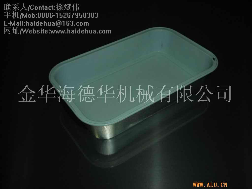 航空铝箔餐盒模具