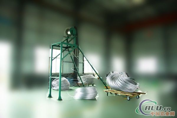 铝镁新挤压机配套设备之放线装置