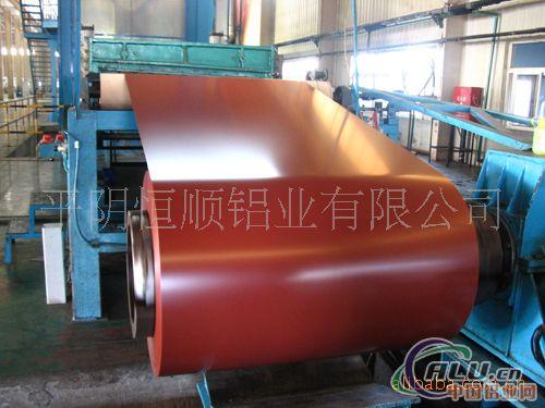 供应彩涂铝卷生产,彩色铝板生产