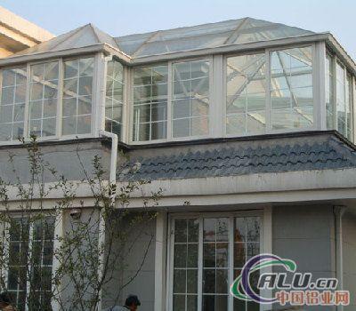 供应断桥铝阳光房-铝合金门窗-中国铝业网