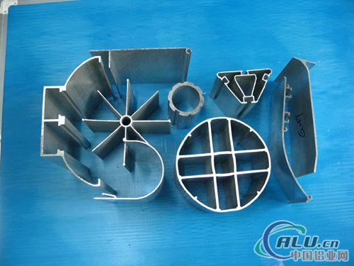 供应各行业用工业铝型材及幕墙型材