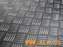 Patterned Aluminum Plate