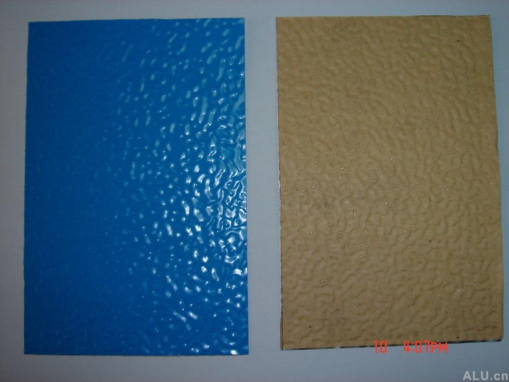 sell coated patterned aluminium board