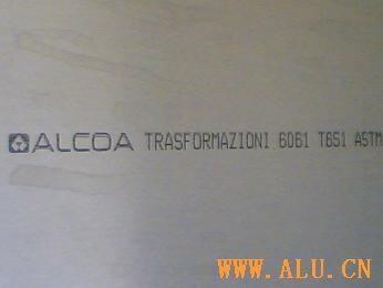 Imported 6061-T651 aluminium board