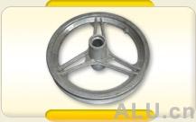 Aluminium wheel spider