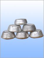 Mast alloy ingot of aluminium base