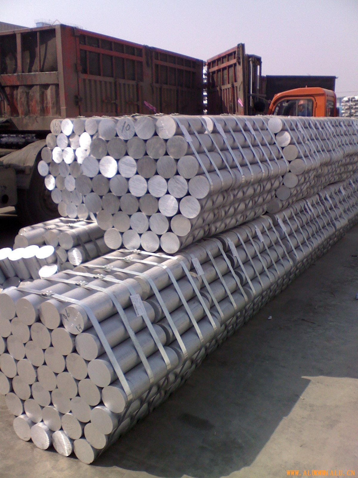 Supply aluminium rod 6063