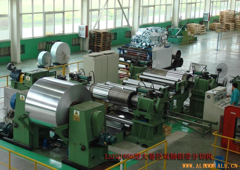 1650 double-axis dividing cutting machine of large diameter