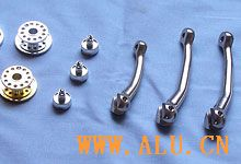 Aluminium alloy of fishing tackle