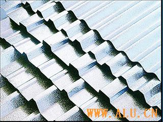 Corrugated aluminium board