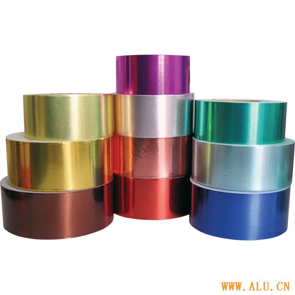 Compound aluminium foil paper